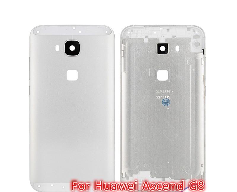 Carcasa trasera de calidad superior para Huawei Ascend G8 con lente de cámara y bandeja Sim