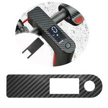 Contrôleur Central Scooter noir Film protecteur fibre de carbone PVC autocollant pour Xiaomi M365 Pro accessoires Scooter électrique
