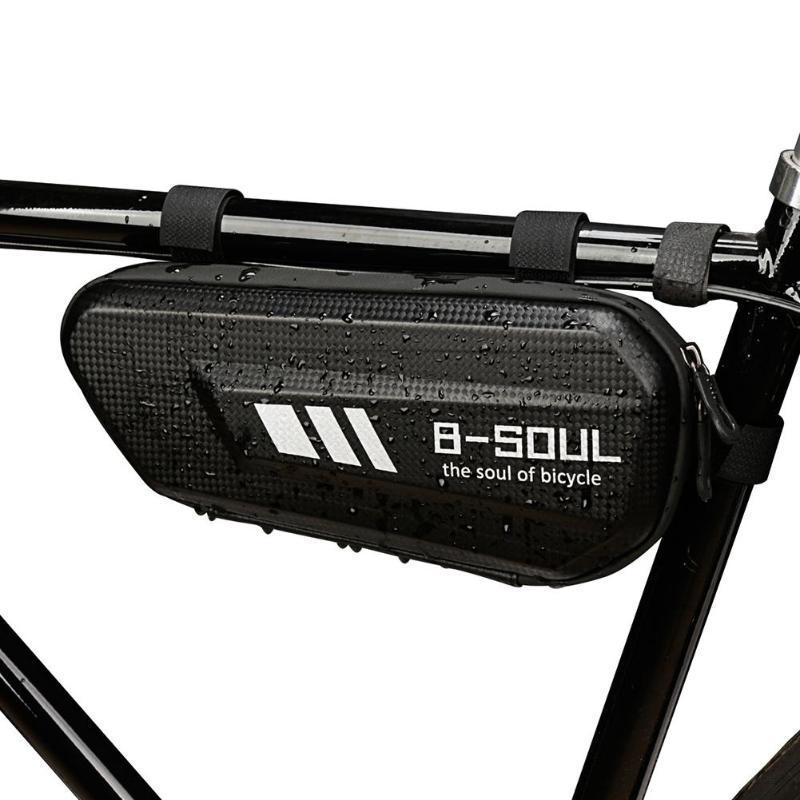 Bolsa triangular de bicicleta de B-SOUL resistente al desgaste bolsa triangular de bicicleta de montaña bolsa de recubrimiento duro impermeable bolsa de gran capacidad gran oferta