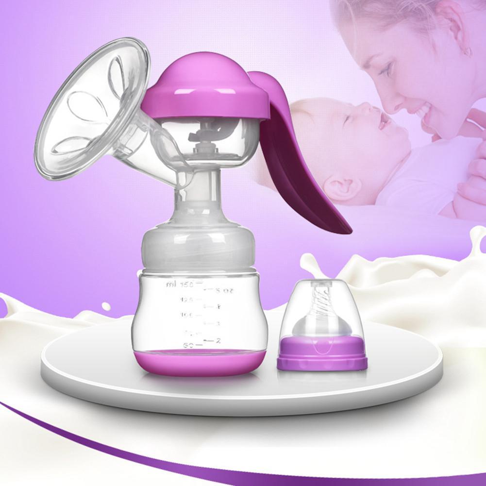 Estándar Cablier Manual bomba de leche para el pecho masaje de botella de bomba extractor de leche