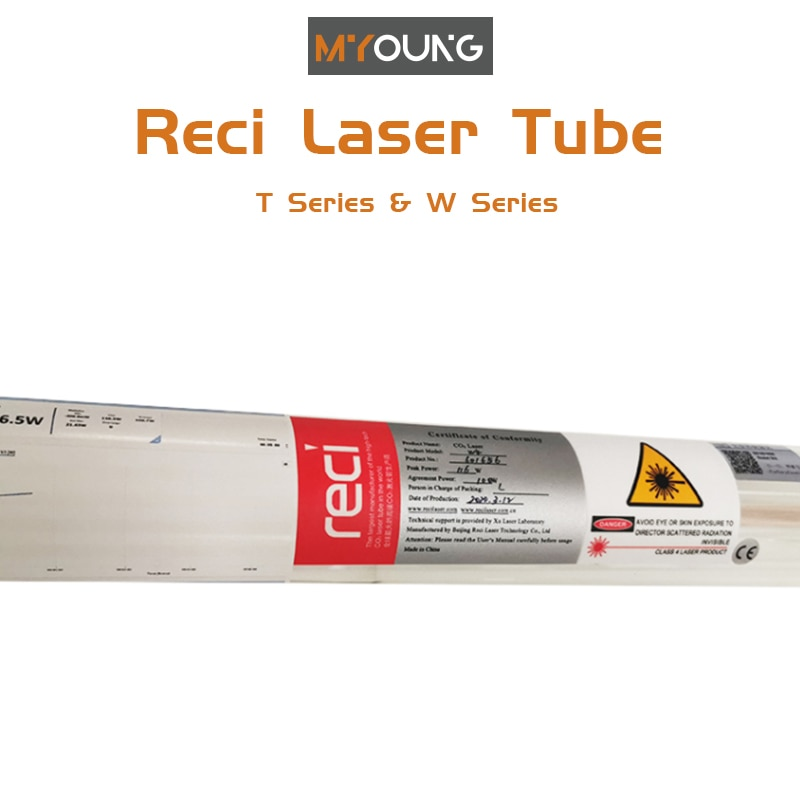 Long Life Span Co2 Laser Glass Tube 130W Co2 Upgraded Laser Tube For  Laser Cutting/Engraving Machine