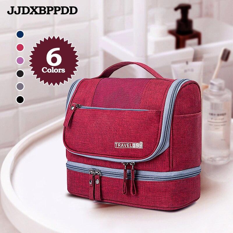 JJDXBPPDD neceser bolsa de maquillaje impermeable para hombre bolsa de maquillaje Oxford organizador de viajes bolsa de cosméticos para mujeres necessarías bolsa de maquillaje