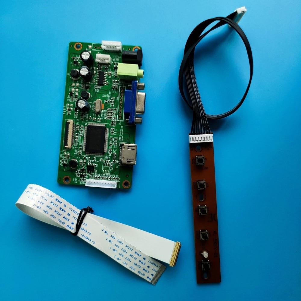 كيت ل LP140WF6-SPD3/LP140WF6-SPD4 30pin LCD LED لوحة شاشة moitor عرض تحكم مجلس EDP سائق HDMI VGA 1920x1080