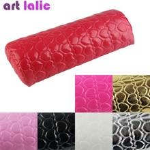 Hand Arm Rests Semicircle Cushion Pillow Nail Art Design Manicure Care Optional Color Beauty Salon T