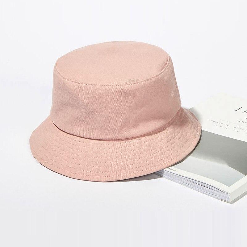 2021 new Branded Cotton Bucket Hats Women Summer Sunscreen Panama Hat Men Sunbonnet Fedoras Outdoor