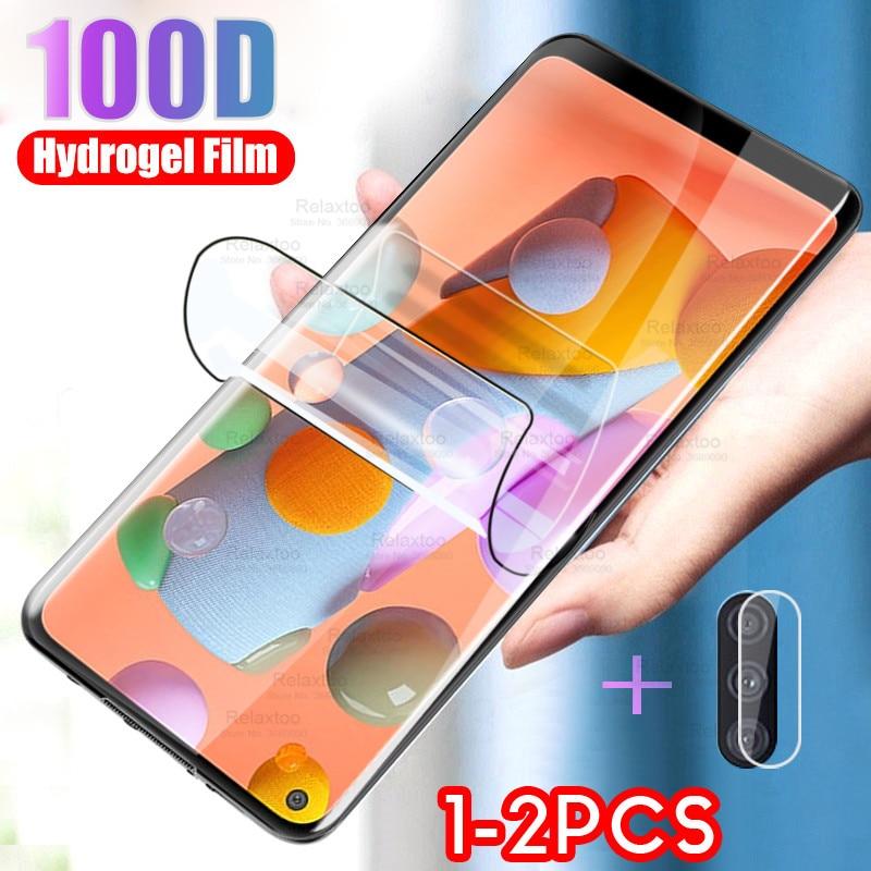 hydrogel film for samsung galaxy a11 a01 screen protector film samsang a 11 11a a01 sm 2020 camera g