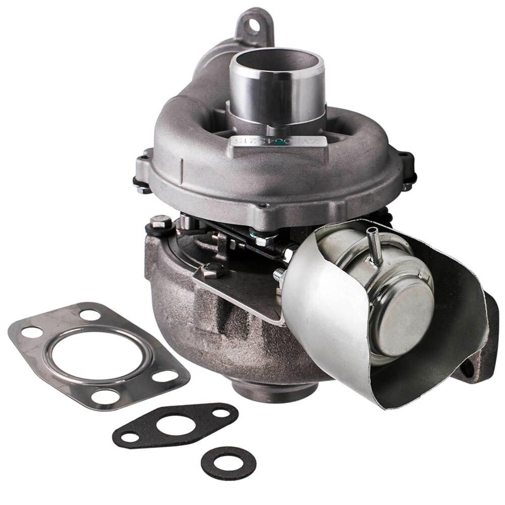 GT1544V Turbo turbocompresor para Citroen C2 C3 C4 para Peugeot Ford C MAX 750030-0002, 753420-5005S 753420-4 de turbolader