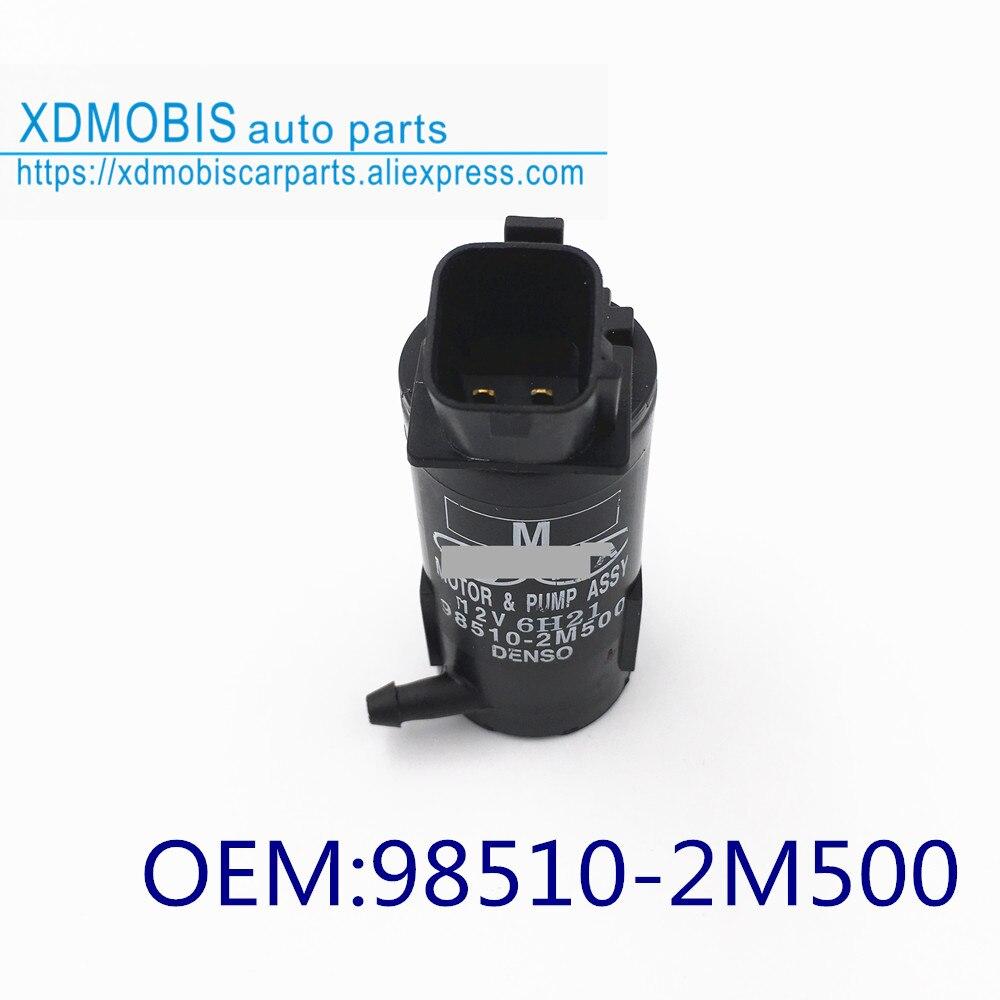 Conjunto de bomba limpiaparabrisas para hyundai AZERA 11-16 ELANTRA GENESIS 11-15 H-1 07-18 sonata  i45 11-15 985102M500