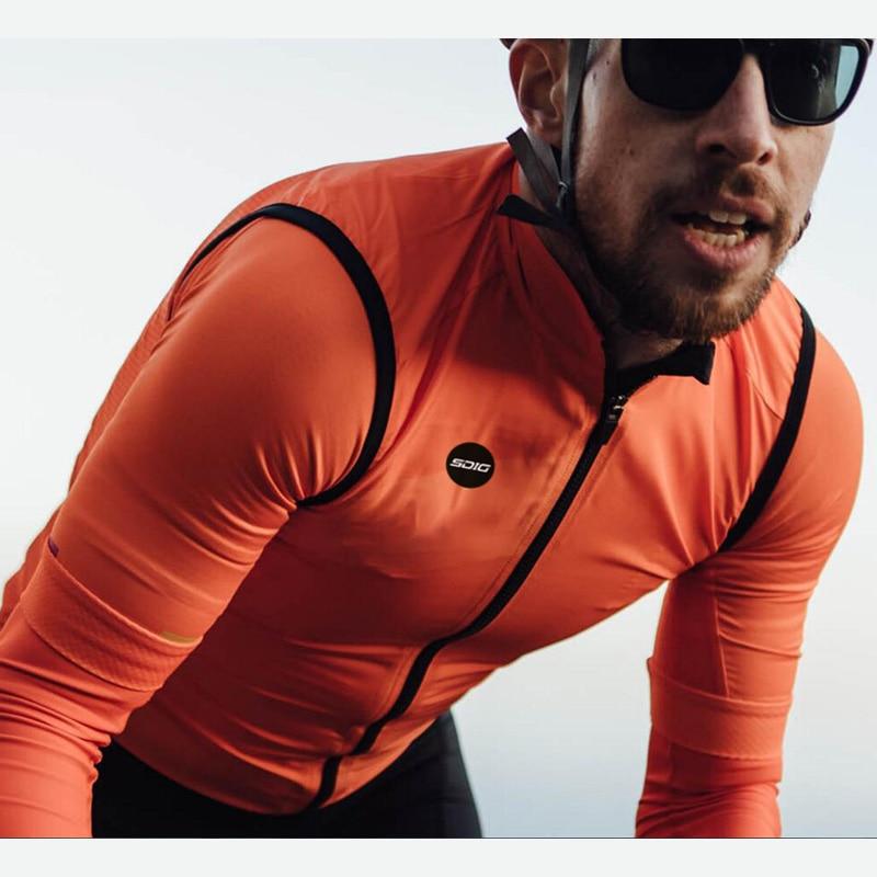 2020 el más nuevo equipo PRO Ciclismo resistente al viento bicicleta chaleco...