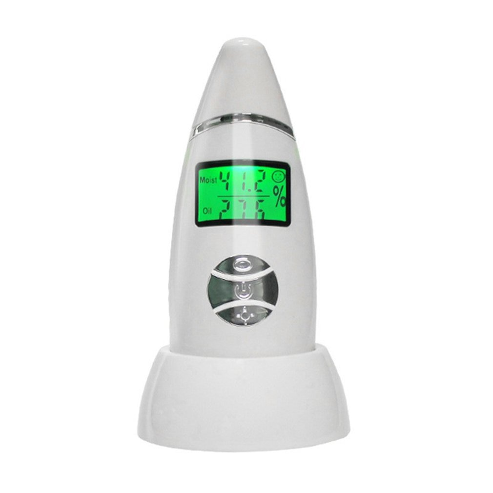 Skin Tester Moisture And Oil Content Tester Fluorescent Agent Test Pen Multifunctional Skin Tester Rechargeable home use devices недорого