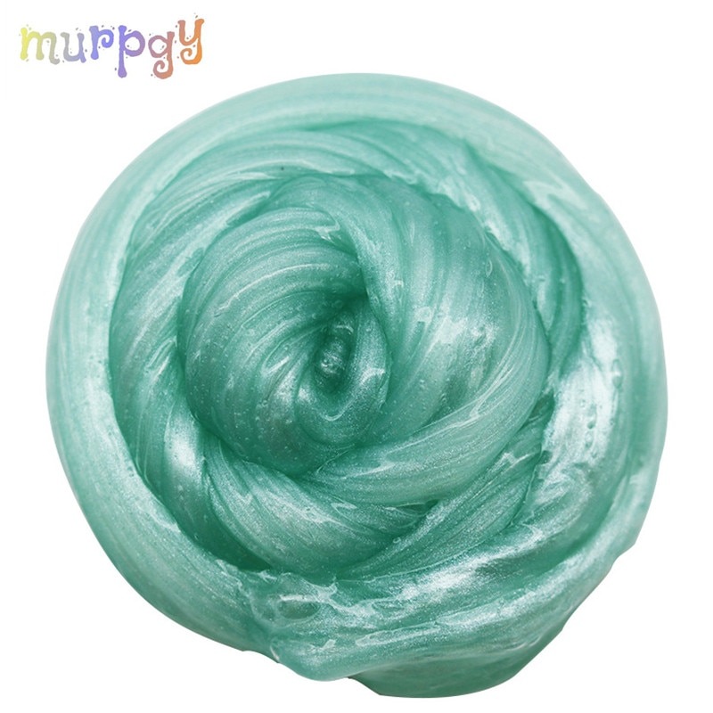80ml Pearl Powder Slime Glue Crystal Slime Fluffy Multiple Colour Clay Snow Mud Slime Putty Soft Clay Plasticine Kit For Kids недорого