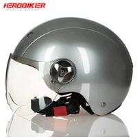lvcool new motorcycle helmet motobike unisex windproof lovely helmet uv protection 34 open face helmet motocross casco moto
