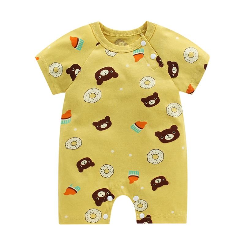 Uniesx Newborn Baby Rompers Clothing t Infant Jumpsuits 100%Cotton Children Roupa De  Girls&Boys Baby Clothes