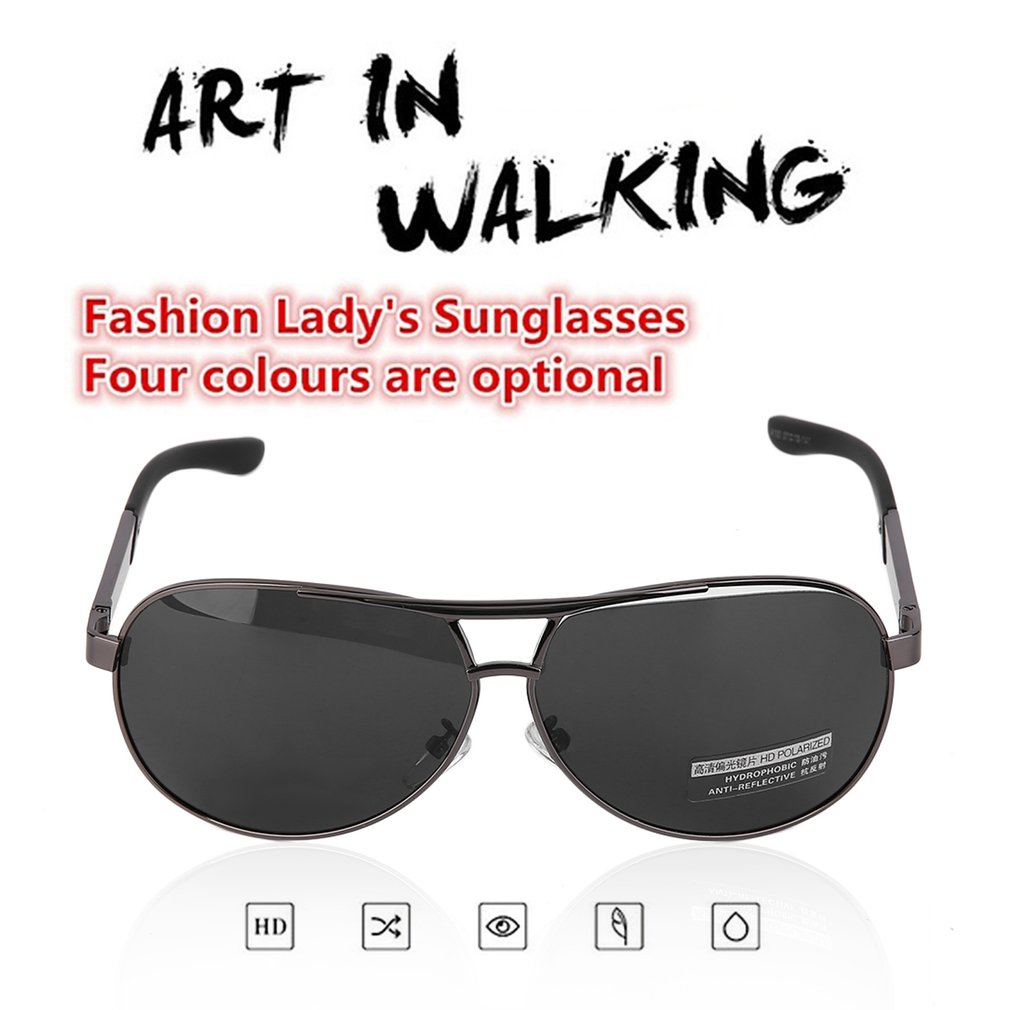 Hommes Cool lunettes de soleil en résine de polarisation Protection Uv luxe conduite lunettes de soleil hommes lunettes de soleil