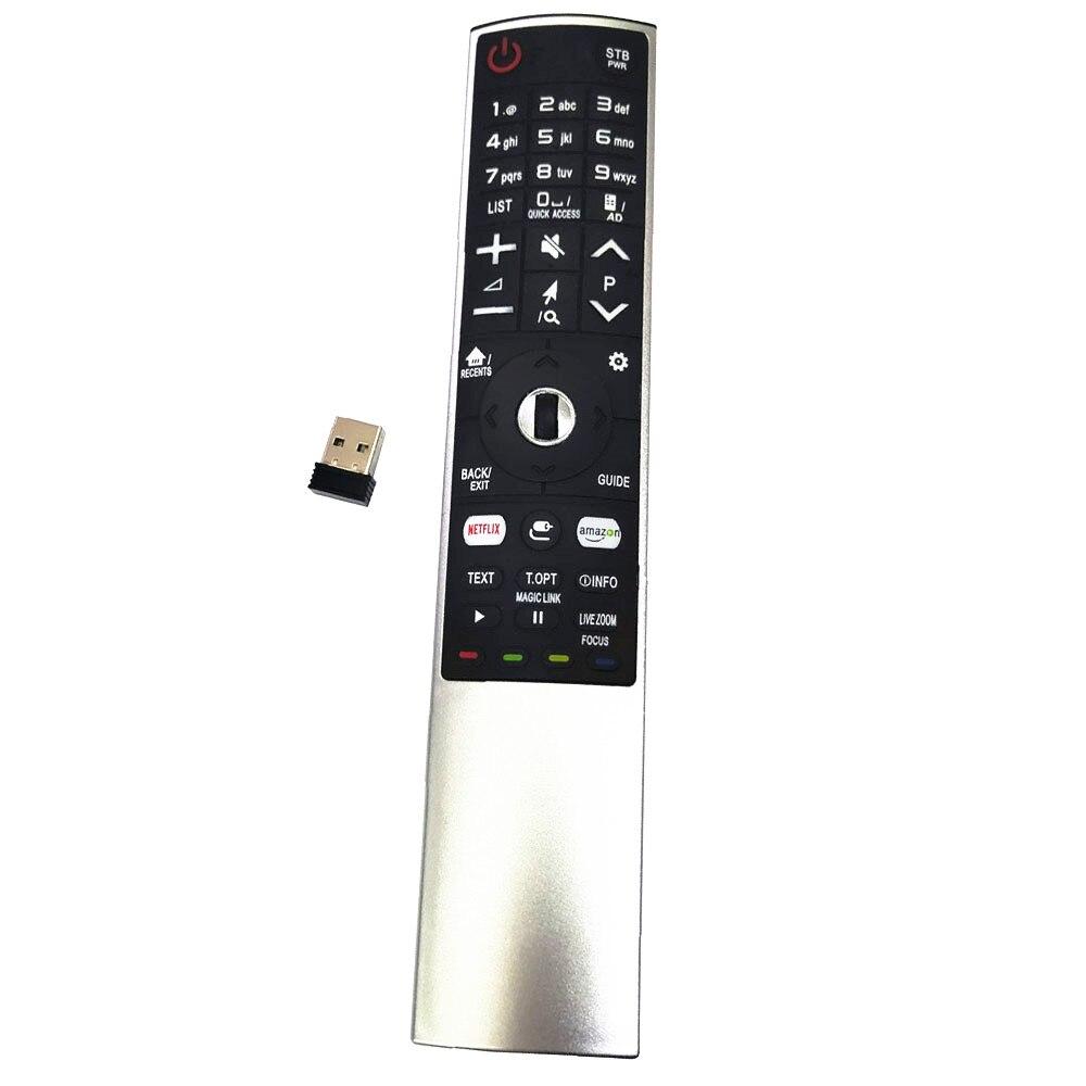 Nuevo MR-700 de reemplazo para LG Smart TV Control remoto AN-MR700 AN-MR600 AN-MR650 AKB75455601 AKB75455602 OLED65G6P-U con Netflx