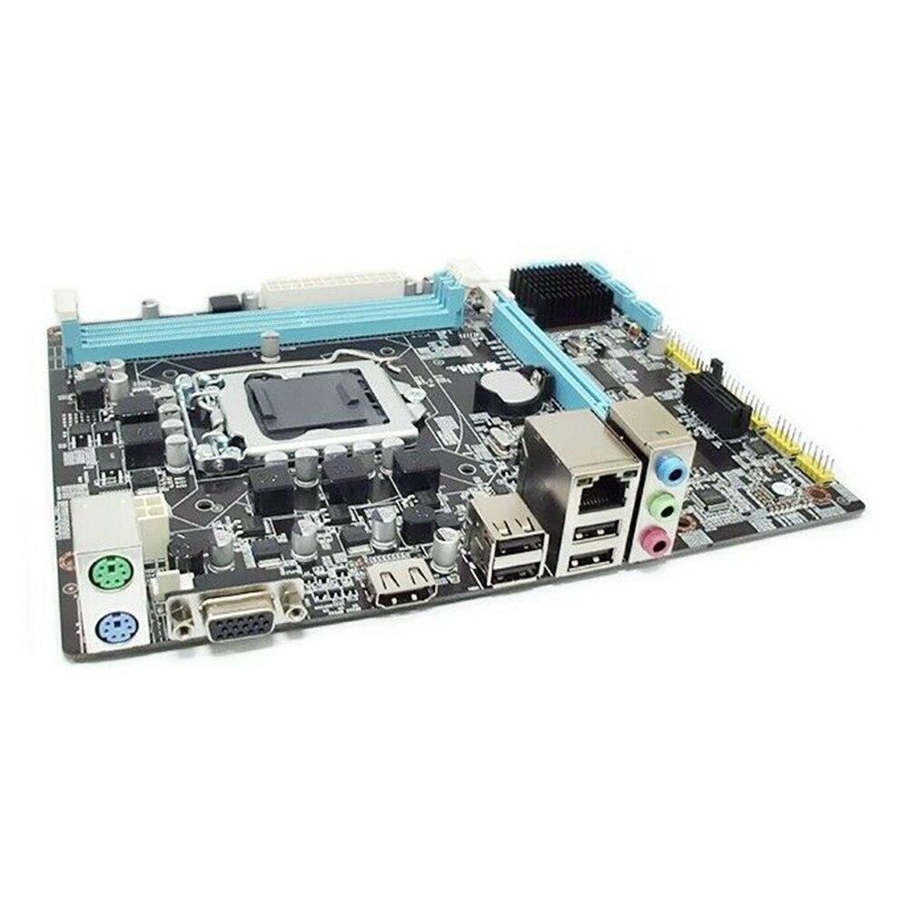 Placa base H55, accesorios, placa base profesional, memoria DDR3, LGA1156 ordenador de escritorio, compatible con I3, I5, I7, reemplazo de CPU