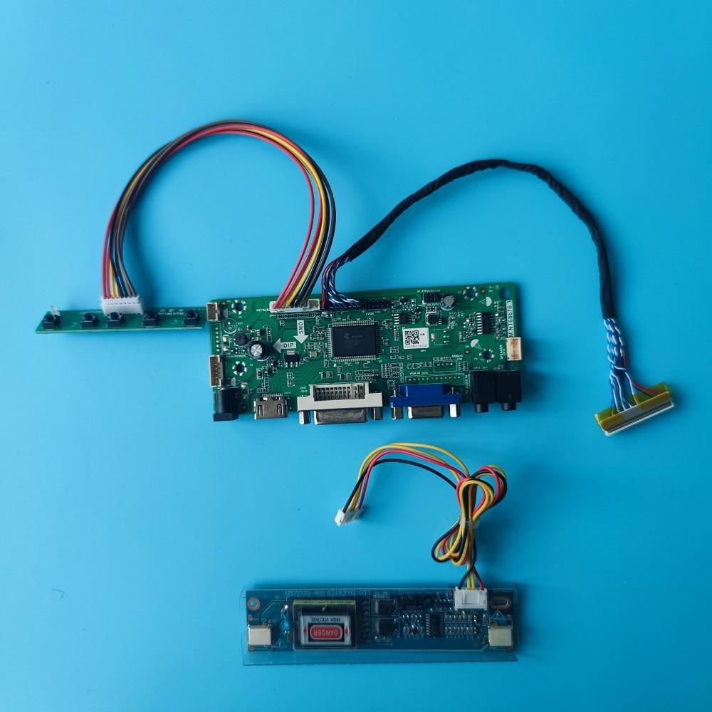 M.NT68676 سائق مجلس DVI VGA LCD لتقوم بها بنفسك مجموعة التحكم عن M190PW01-V7/V5/V4/V6 LVDS شاشة HDMI متوافق مع 1440X900 لوحة 19