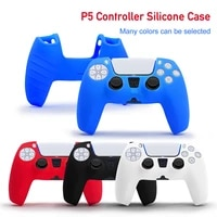 silicone case for playstation 5 ps5 controller shell for ps5 silicone controller cover fundas non slip case cover for ps5 cover