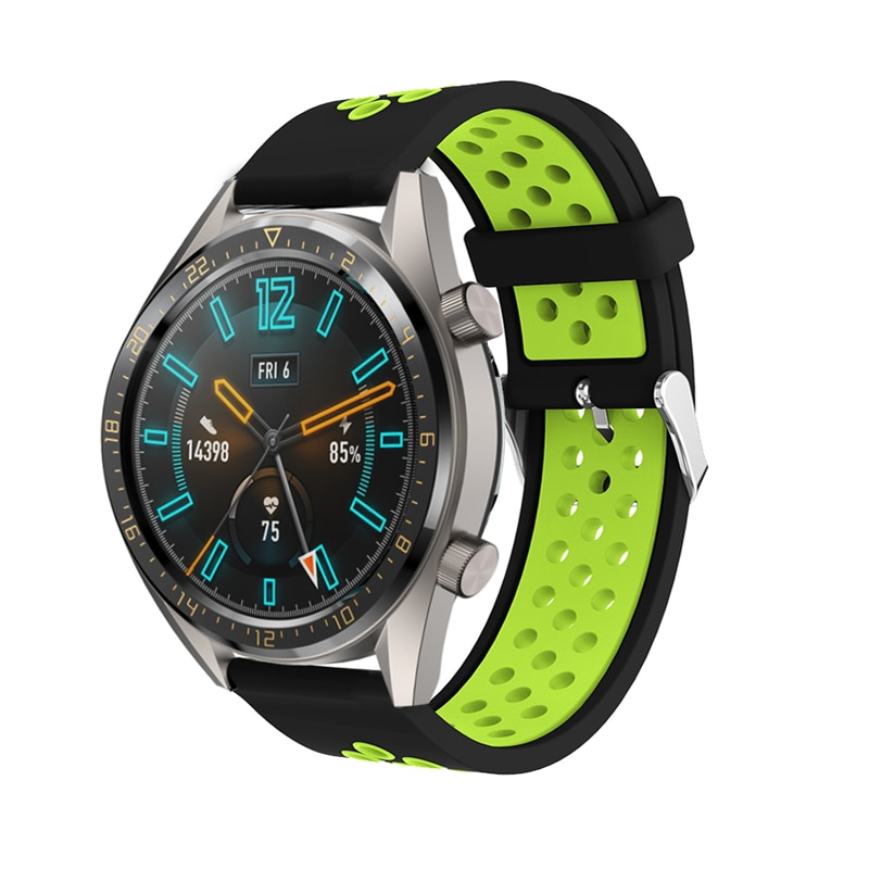 20/22mm Sport band Strap for Huawei observation GT 42mm 46mm bracelet Strap for huawei watch GT2/2E Smart accessories Watchband недорого