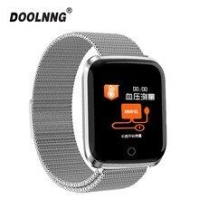 YS18 montre intelligente bracelet de fitness traqueur dactivité fréquence cardiaque/tension artérielle smartwatch pour ios Android apple iPhone xiaomi