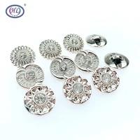 hl 20pcs60pcs180pcs 18mm overcoat buttons plating buttons shank diy apparel sewing accessories
