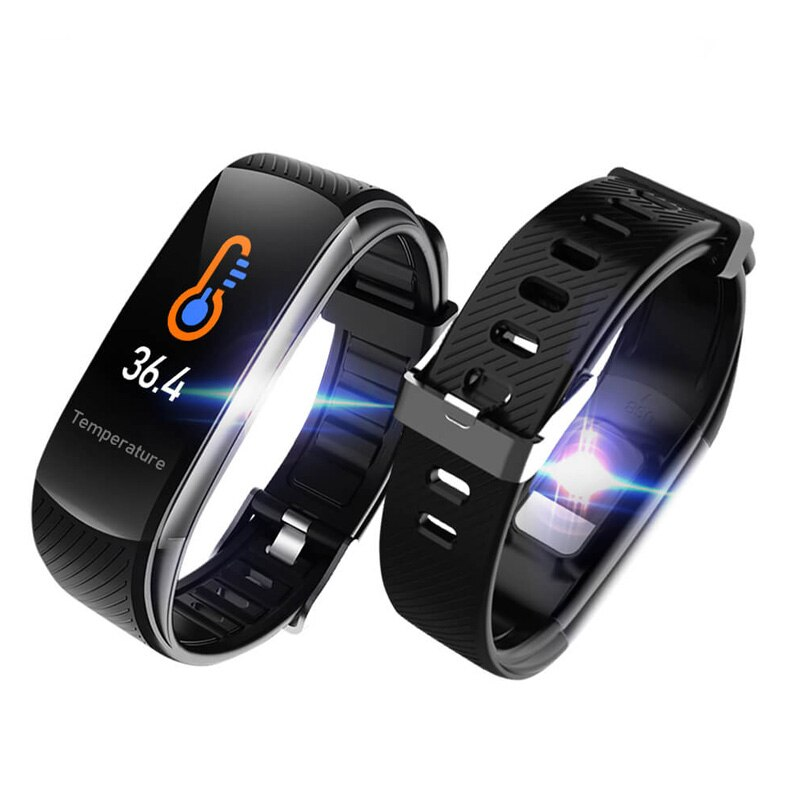 Para Blackview BV9700 Pro BV9100 BV6100 BV5900 BV6800 pro deporte brazalete inteligente horloge rastreador de Fitness cuerpo Temperatuur Polsband