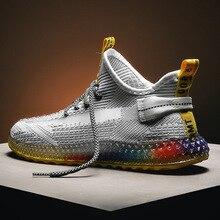 2020 Designer Men Shoes Adult Breathable Mesh Sneakers Men Casual Shoes Non-slip Lace Up Men Sneakers Soft Zapatillas Deportiva