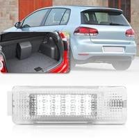 1x white led interior boot trunk luggage compartment light for vw golf jetta passat b6 b7 b8 sedan wagon variant cargo area lamp