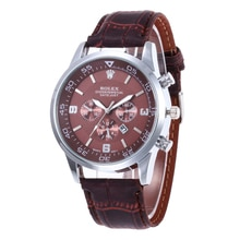 Rolex-Mannen Quartz Horloge Top Brand Luxe Roestvrijstalen Gecontracteerd Mannen Mode Timing Mannen Sport Watch14