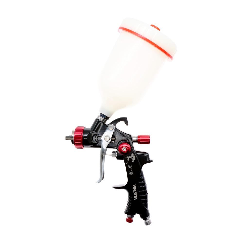 WAERTA 716 1.3 مللي متر فوهة المهنية بندقية رش البخاخ الطلاء الهواء مصغرة بندقية رش لطلاء السيارات Aerograph أداة