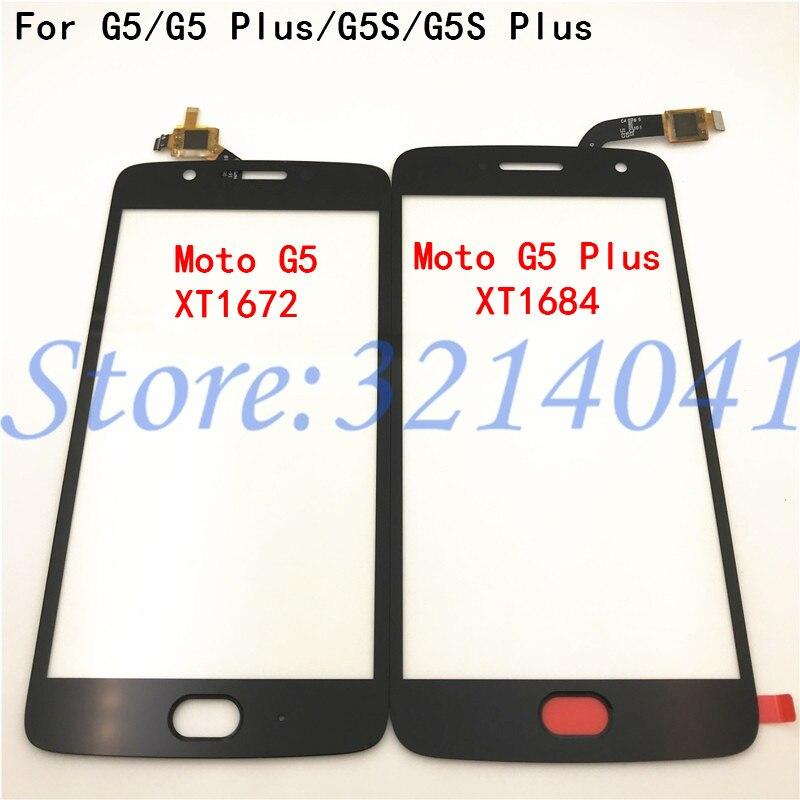 100% probado Original nuevo digitalizador para Motorola Moto G5 G5 Plus G5S + G5s Plus G5s pantalla táctil Sensor vidrio piezas del Panel