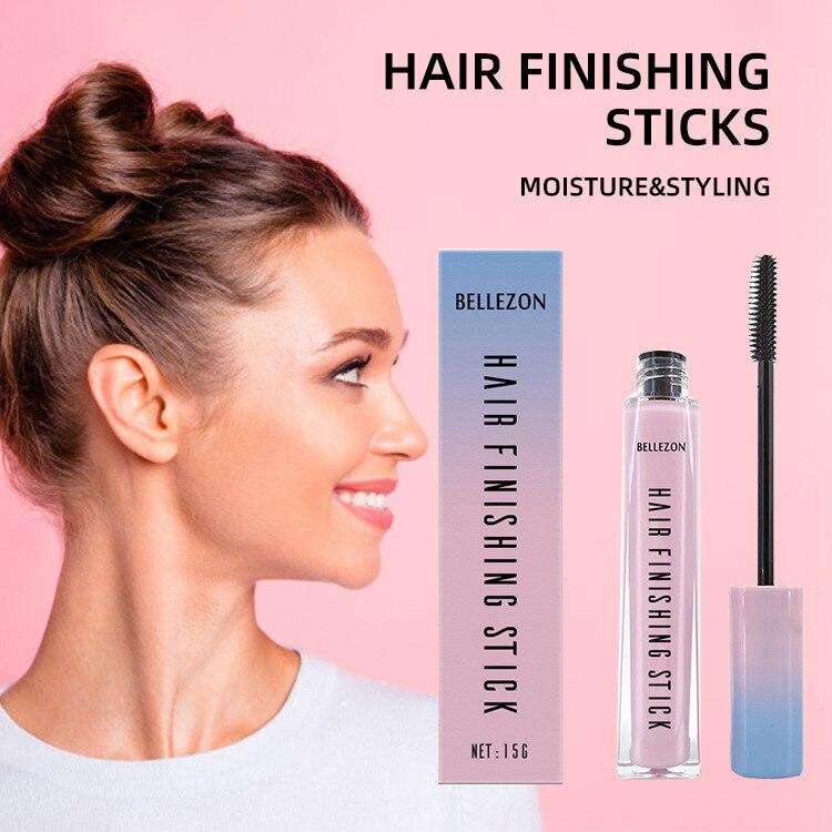 Cepillo de cera de acabado para el cuidado del cabello, antiencrespamiento