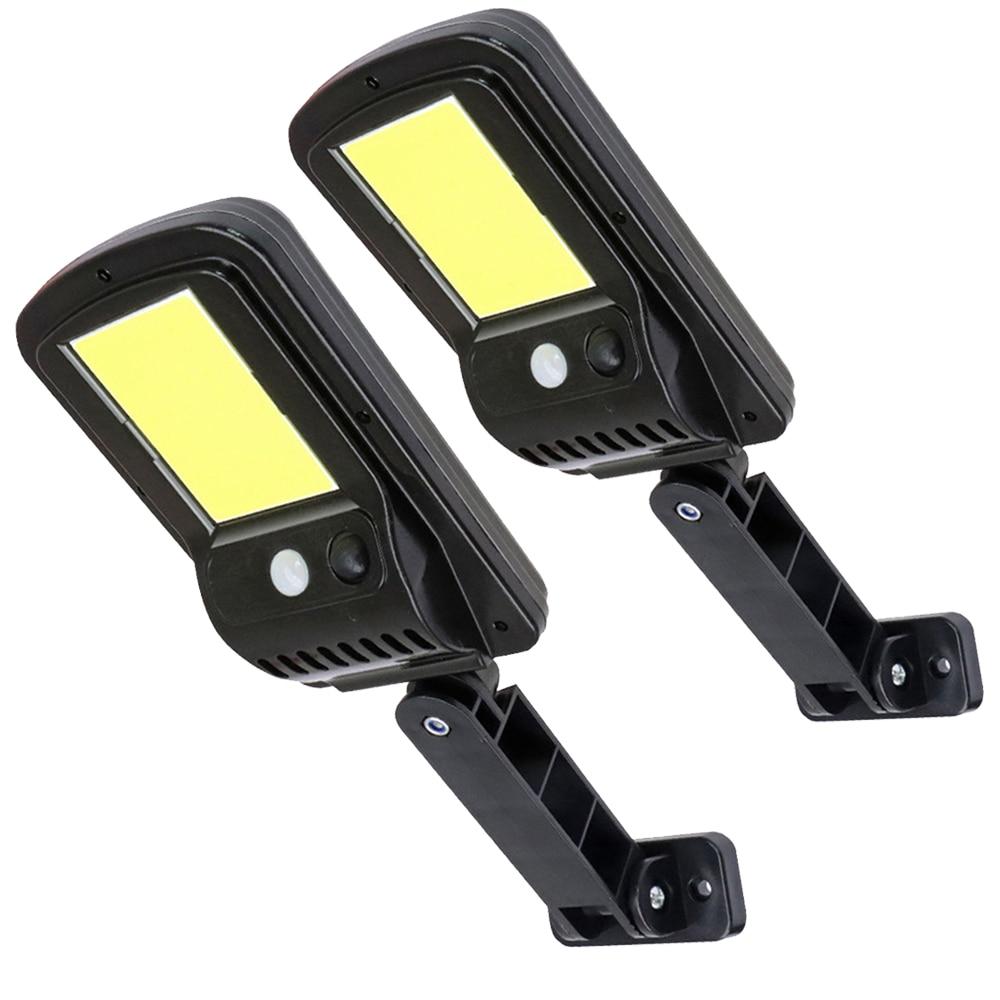 48 COB LED Solar Street Light Outdoor Solar lamp Motion Sensor Solar Wall Light Flood Light Lamps for Street Path Garden Patio