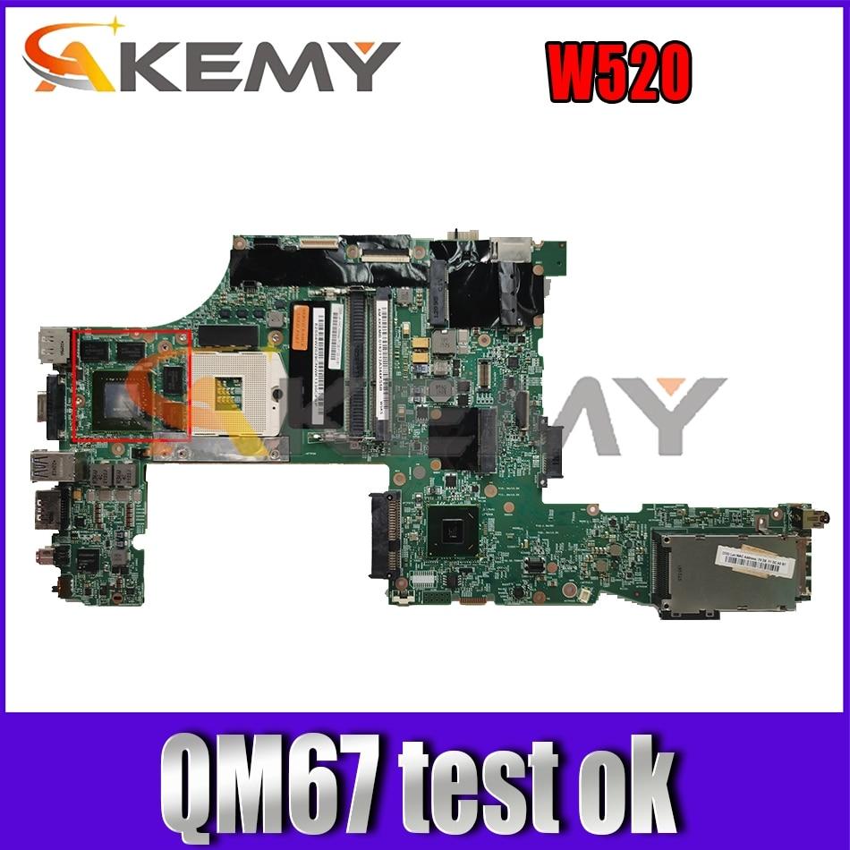 Akemy لينوفو ثينك باد W520 Q2000M اللوحة 04W2029 H0222-4 LKN-3 48.4KE36.041 QM67 N12P-Q3-A1
