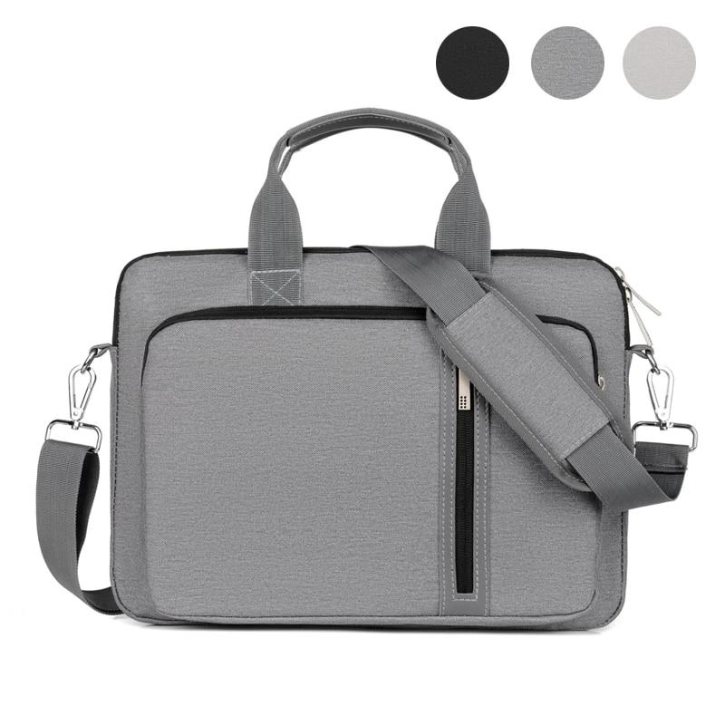 Shockproof Laptop Bag 13.3 14 15.6 17 inch Shoulder Bag Briefcase Notebook Sleeve Carrying Case for Macbook Air Pro HP Women Men