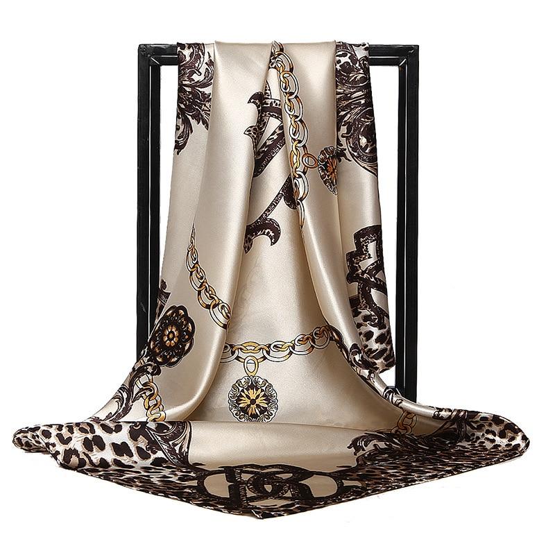 2021 Spring Fashion Thin Style Luxury High Quality Twill Silk Scarf Muslim Mulberry Silk Fashion Lad