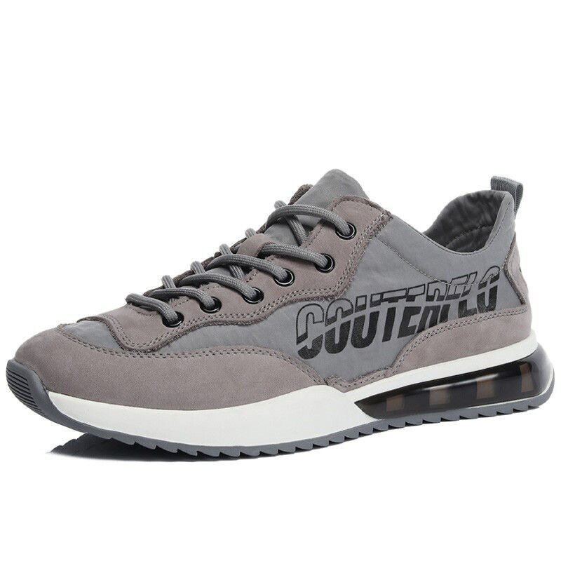 Fall new sports shoes casual ice silk stitching air cushion running shoes 2021 sneakers men