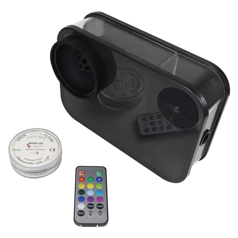 Acrylic Smoking Hookah кальян Acrylic Shisha With LED Light Nargile Cachimba Portable Water Pipe Chicha Hookah Kit Accessory enlarge