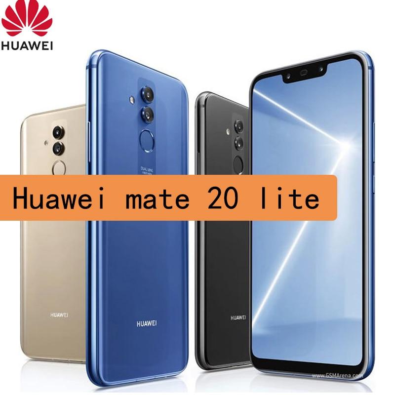 smartphone Huawei Mate 20 Lite Mobile Phone 6.3