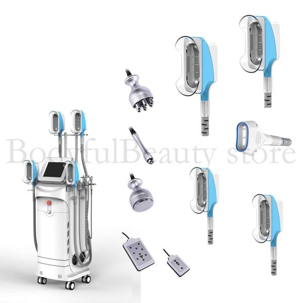 9 in 1 New Design Cool Freeze Eliminate Edema Fat Removal Fat Lipolysis laserlipo Machine for Home Salon Use