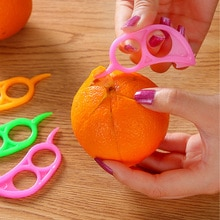 5 / pcs creative mini fruit peeler orange pomegranate lemon peeler kitchen peeling artifact  kitchen gadget