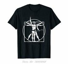 Noir Da Vinci guitare homme, vitruvien homme guitariste t-shirt parodie 100% coton grand haut t-shirt Streetwear