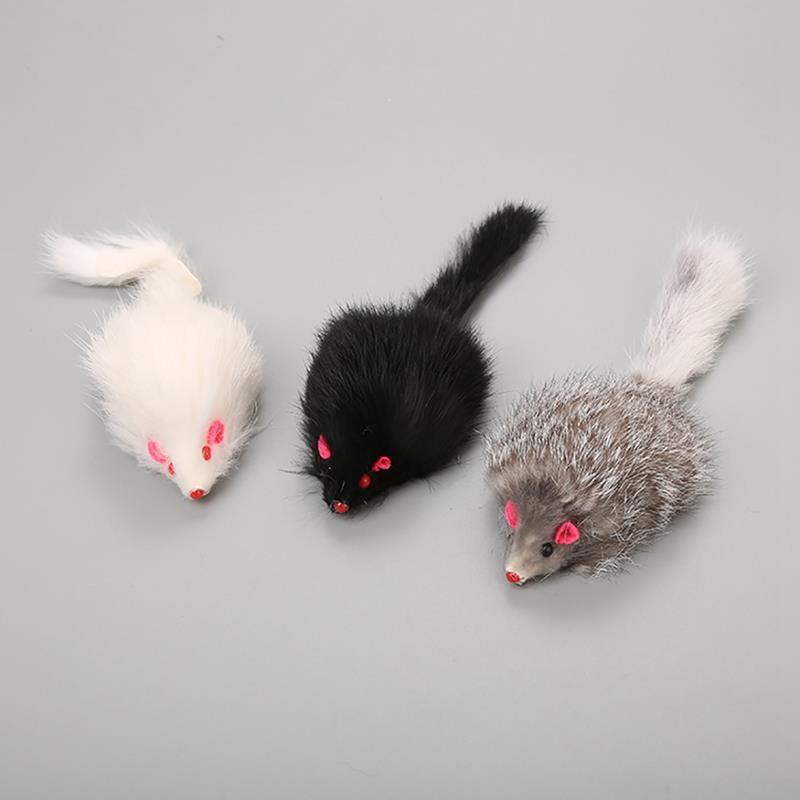 Игрушка для кота Dorakitten в форме мыши, Интерактивная Реалистичная игровая мышь котенка игрушечная крыса, игрушка для жевания, аксессуары для домашних животных, 1 шт.
