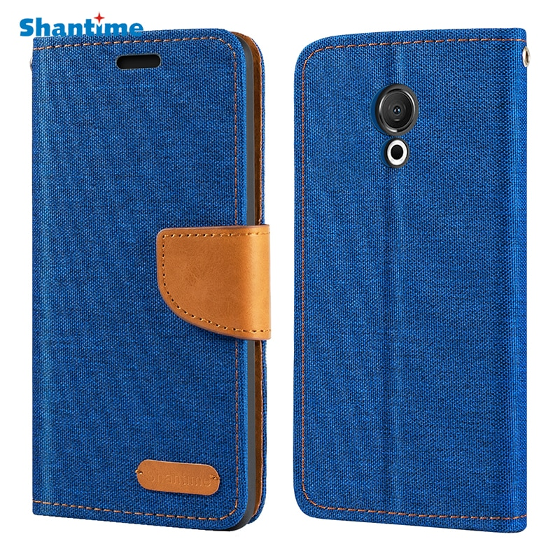 Oxford Leather Wallet Case For Meizu M15 Lite With Soft TPU Back Cover Magnet Flip Case For Meizu M1