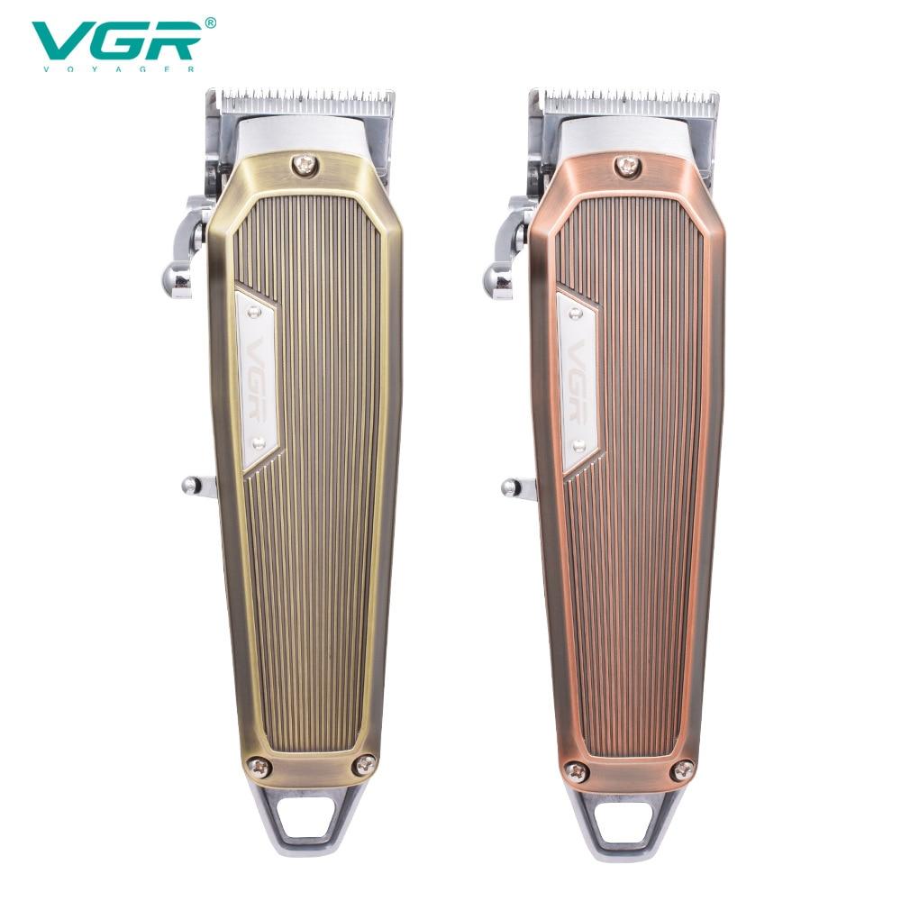 VGR 667 электрическая машинка для стрижки волос, профессиональная личная гигиена, парикмахерский триммер для мужчин, бритва, перезаряжаемые м...