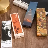 30 pcs1 lot warm series paper bookmarks bookmarks for bookssharebook markerstab for booksstationery