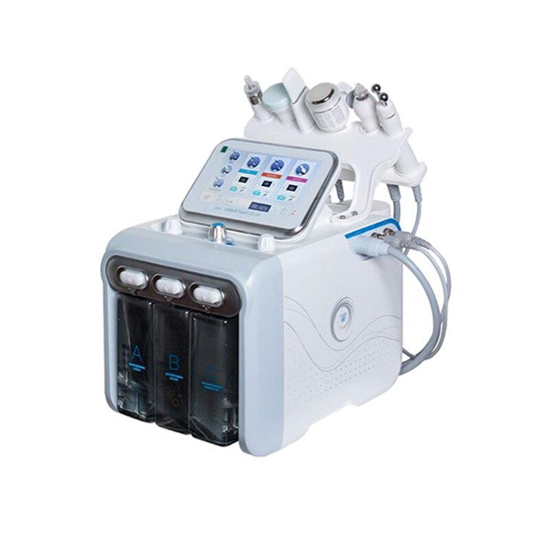 منتجات رائجة 2021 H2O2 ماكينة الجلطات الدقيقة فوهة/ قناع الأكسجين تنظيف الجلد هيدرودرمابراسيون هيدرا الوجه