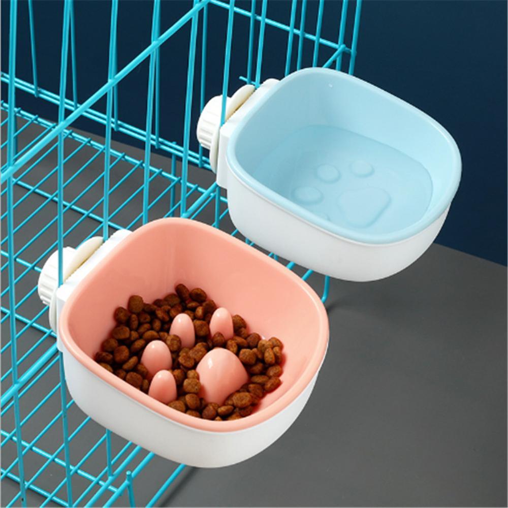 Tazón de perro de plástico suave y saludable, Alimentador Lento de comida,...