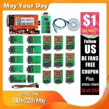UPA USB V1.3 UUSP programador Serial UPA adaptador USB V1.3 para con Chip ECU Eeprom y Microchip adaptadores completos
