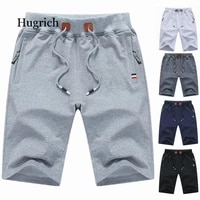 2021 summer mens shorts knitted loose five point pants casual mens sports beach pants